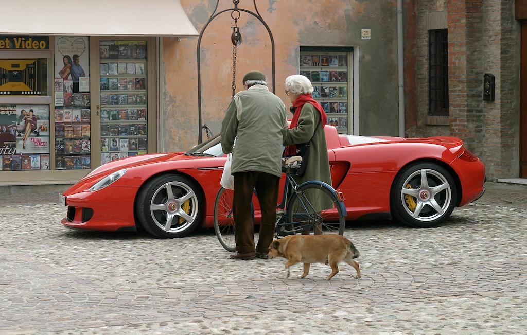 Porsche Carerra GT in Adria/ITA