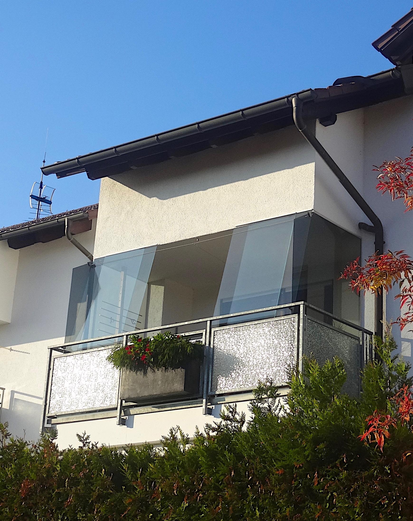 erf14 abnehmbare balkonverglasung cede. Black Bedroom Furniture Sets. Home Design Ideas